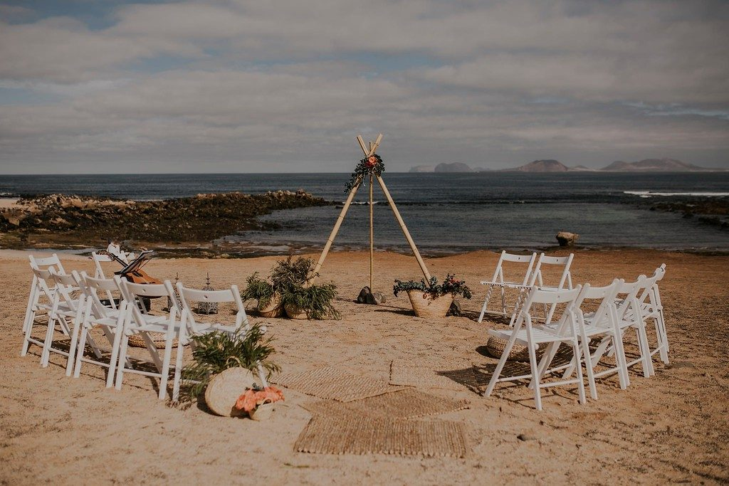 Lanzarote Beach Wedding