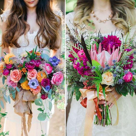 XXL bridal bouquets