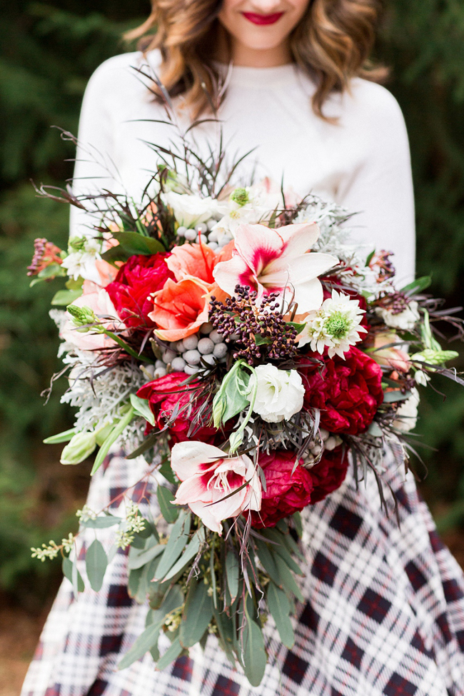 Large bridal bouquet