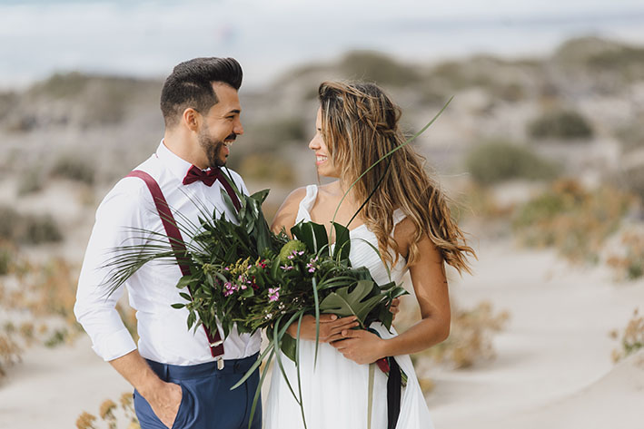 Getting marriage in Lanzarote
