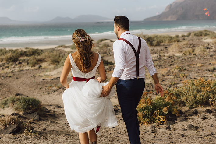 Famara Lanzarote Beach Wedding Styled Shoot (26)