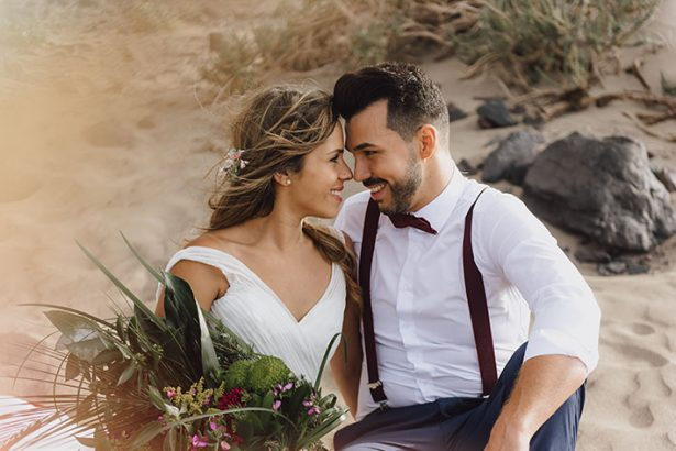 Famara Lanzarote Beach Wedding Styled Shoot (28)