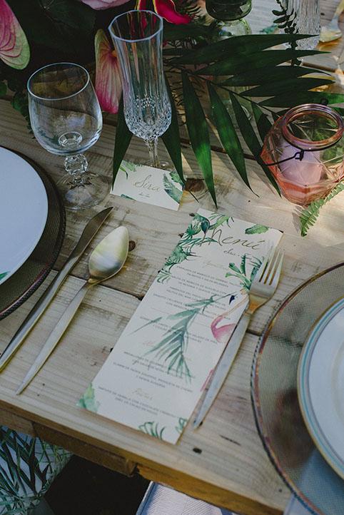Ideas minutas de boda